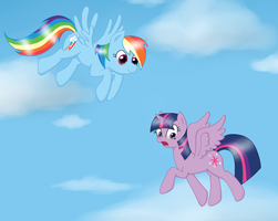 Let's fly! by Helen3