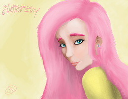 Fluttershy by The-Kinetic