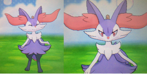 Shiny Braixen! Pokemon X by kovuification