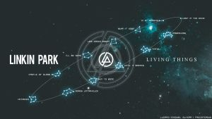 Wallpaper Linkin Park Living Things by Friccstergus
