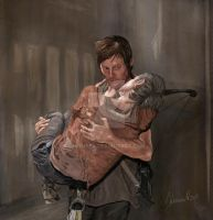 Daryl and Carol by homppa