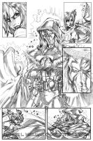 Summons: Pg4 Pencils by CdubbArt