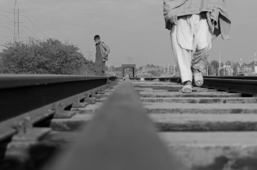 Train Track by aam1r-javed