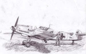 BF-109G-2 by Bidass