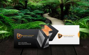ahmed eimirat designer card business by EMERAT