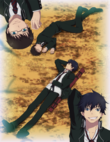 Rin and Yukio Dream by Narusailor