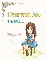 1 year with you by HSanti