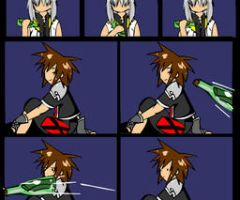 KH2 -  Message in a Bottle by Kirika-chan