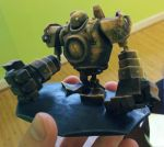 BlitzCrank 3D printed @Shapeways by Vidal-Design