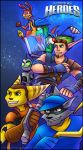 Playstation Move Heroes by RatchetMario