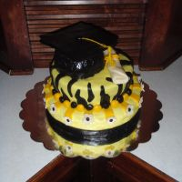 VCU Graduation Cake by SarahMame