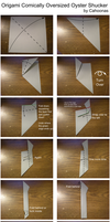 Origami Oyster Shucker Instructions by Cahoonas