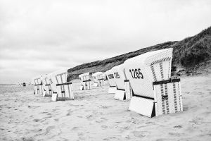 Beach Chairs by ds-foto