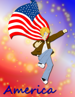 Happy Birthday America by country-rodeo-girl