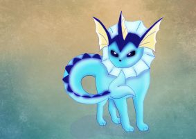 Vaporeon by dolcesunset