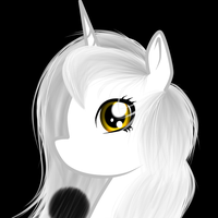 .:PC:. Yin Headshot by weirdfuzzything
