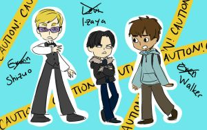 Shingeki No Durarara by mossmallow