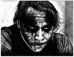 The Dark Knight: The Joker by ToniMariaAli