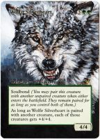 Magic Card Alteration: Wolfir Silverheart by Ondal-the-Fool