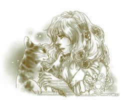 Talk with the cat by liarsliar