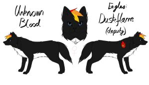 Unknown Blood - Duskflame Reference by fluffylovey