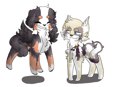 Fullbodies for Chimerafrost!! by SpinnTrashh