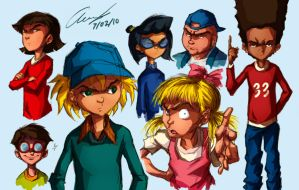 Hey Arnold+Boondocks by Nerdofthefuture