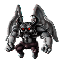 TBoI - Satan by SuperKusoKao