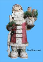 Carved Santa by toadfoto-stock