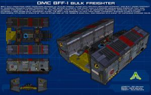 BFF-1 Bulk Freighter ortho [New] by unusualsuspex