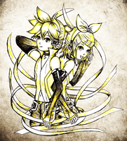 Kagamine Appends by cold-nostalgia