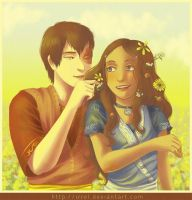 Flowers - Zutara by Irrel