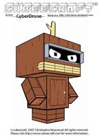 Cubeecraft - Bender 'Wooden' by CyberDrone