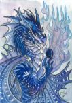 ACEO Dragon 45 by rachaelm5