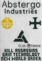 Abstergo Glow-In-Dark XStitch1 by LordLibidan