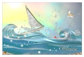 OBSTACLE by LuchiLu by 100ThemesChallenge