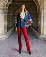 Hetalia Fashion: France by ithinkmynameisREE