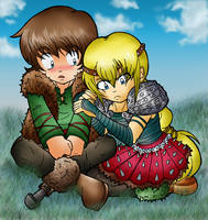 HTTYD: Hiccup and Astrid by Random-EXplosion