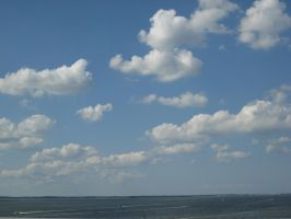 Clouds over bay by beanboy89