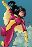 Spider-Woman by Diego Benard by Blindman-CB