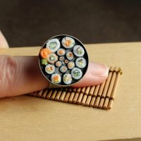 Sushi Spiral Ring by fairchildart