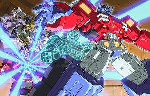 Arise Optimus Prime by GuidoGuidi