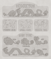 Veggie'fon reference sheet by Shegoran
