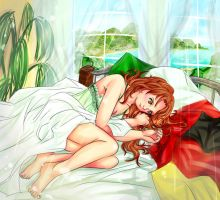In the morning [NyoItaly] by 1412s-assistant