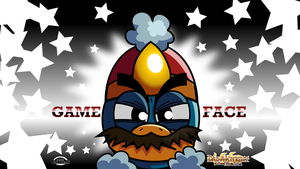 Dedede's GAME FACE! - Dad-A-Knight wallpaper by MarkProductions
