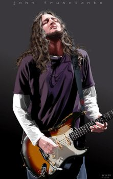 John Frusciante by temy0ng
