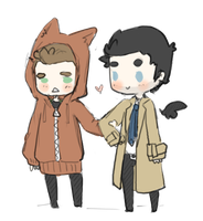 Destiel asdafdadf by mai-mind-freak