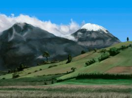 Study of Pico de Orizaba by TheSax66