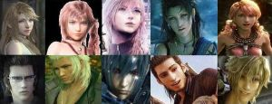 Final Fantasy Perfect Pairs by VenusRose252