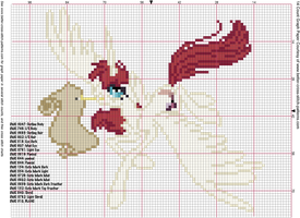 Faust Alicorn Cross Stitch Pattern by AgentLiri